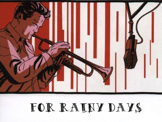 """Cover from """"Rainy Days"""" compilation by Comic*mania"""