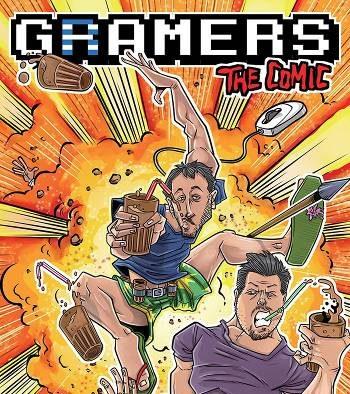 Εξώφυλλο του κόμικ GRamers